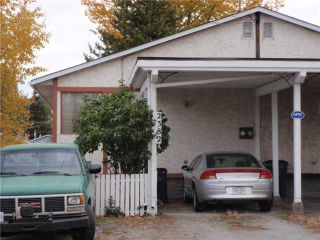 Photo 1: 2382 VICTORIA Street in Prince George: Downtown 1/2 Duplex for sale (PG City Central (Zone 72))  : MLS®# N205304