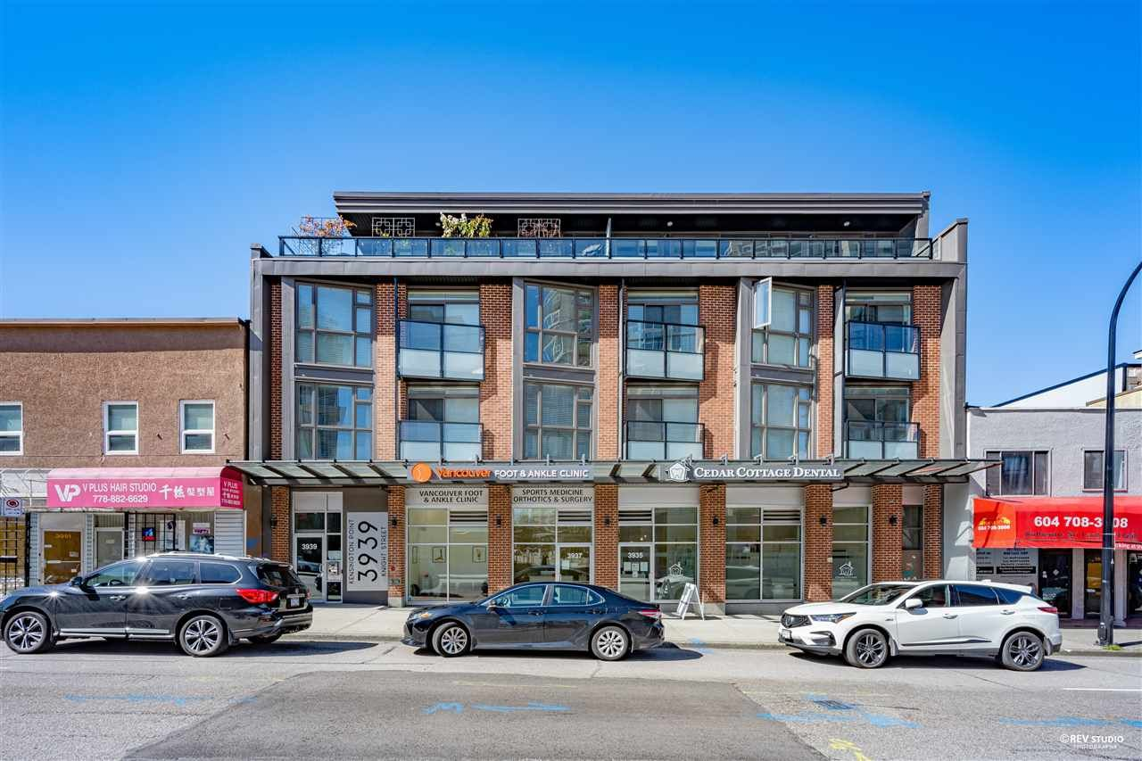 Main Photo: 202 3939 KNIGHT Street in Vancouver: Knight Condo for sale (Vancouver East)  : MLS®# R2566563