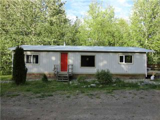 """Photo 1: 25455 NESS LAKE Road in Prince George: Ness Lake Manufactured Home for sale in """"NESS LAKE"""" (PG Rural North (Zone 76))  : MLS®# N219557"""