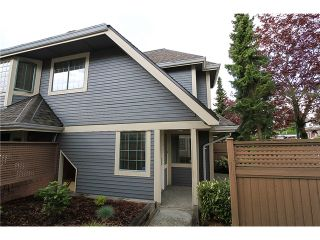 """Photo 1: 34 355 DUTHIE Avenue in Burnaby: Westridge BN Townhouse for sale in """"TAPESTRY"""" (Burnaby North)  : MLS®# V1062631"""