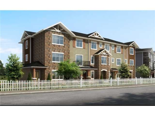 Main Photo: 53 300 MARINA Drive in : Chestermere Townhouse for sale : MLS®# C3588330