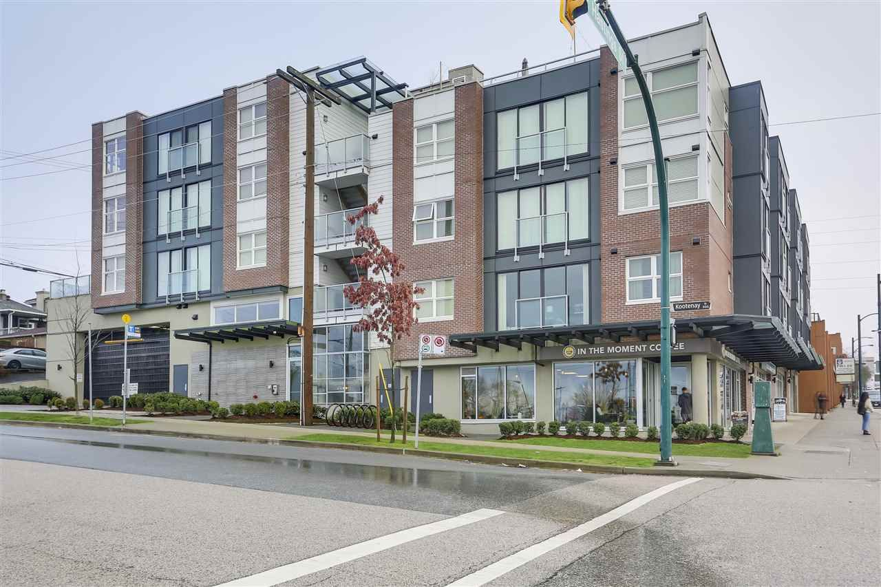 """Main Photo: 509 388 KOOTENAY Street in Vancouver: Hastings East Condo for sale in """"VIEW 388"""" (Vancouver East)  : MLS®# R2336946"""