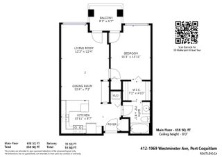 """Photo 25: 412 1969 WESTMINSTER Avenue in Port Coquitlam: Glenwood PQ Condo for sale in """"The Saphire"""" : MLS®# R2616999"""