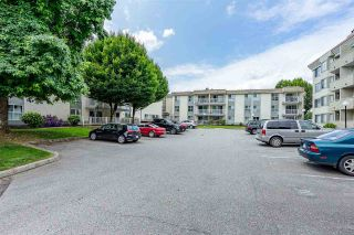 "Photo 1: #322 32850 GEORGE FERGUSON Way in Abbotsford: Central Abbotsford Condo for sale in ""Abbotsford Place"" : MLS®# R2434358"
