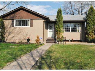 Photo 1: 146 Danbury Bay in WINNIPEG: Westwood / Crestview Residential for sale (West Winnipeg)  : MLS®# 1410862