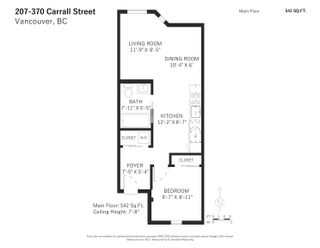 """Photo 14: 207 370 CARRALL Street in Vancouver: Downtown VE Condo for sale in """"21 Doors"""" (Vancouver East)  : MLS®# R2625412"""