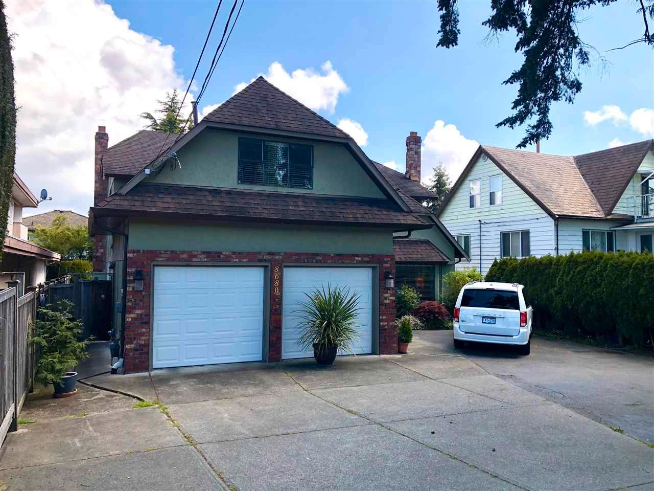 Main Photo: 8680 NO 2 Road in Richmond: Woodwards House for sale : MLS®# R2553398