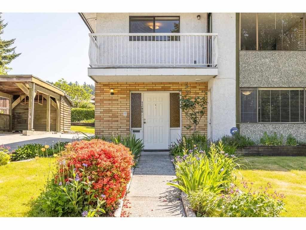 Main Photo: 1240 AUGUSTA Avenue in Burnaby: Simon Fraser Univer. 1/2 Duplex for sale (Burnaby North)  : MLS®# R2584645