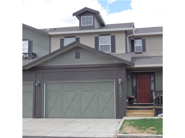 Main Photo: 3802 1001 EIGHTH Street NW in : Airdrie Townhouse for sale : MLS®# C3617688