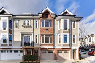 """Photo 1: 112 20738 84 Avenue in Langley: Willoughby Heights Townhouse for sale in """"YORKSON CREEK"""" : MLS®# R2544009"""