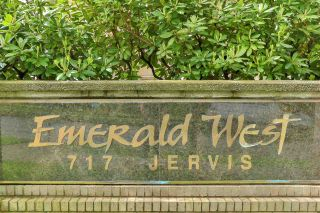 """Photo 1: 701 717 JERVIS Street in Vancouver: West End VW Condo for sale in """"EMERALD WEST"""" (Vancouver West)  : MLS®# R2580591"""