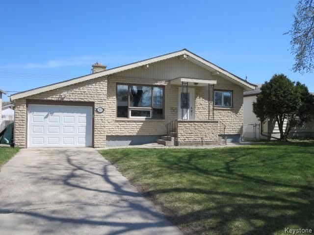 Main Photo: 423 Armstrong Avenue in Winnipeg: Margaret Park Residential for sale (4D)  : MLS®# 1711127