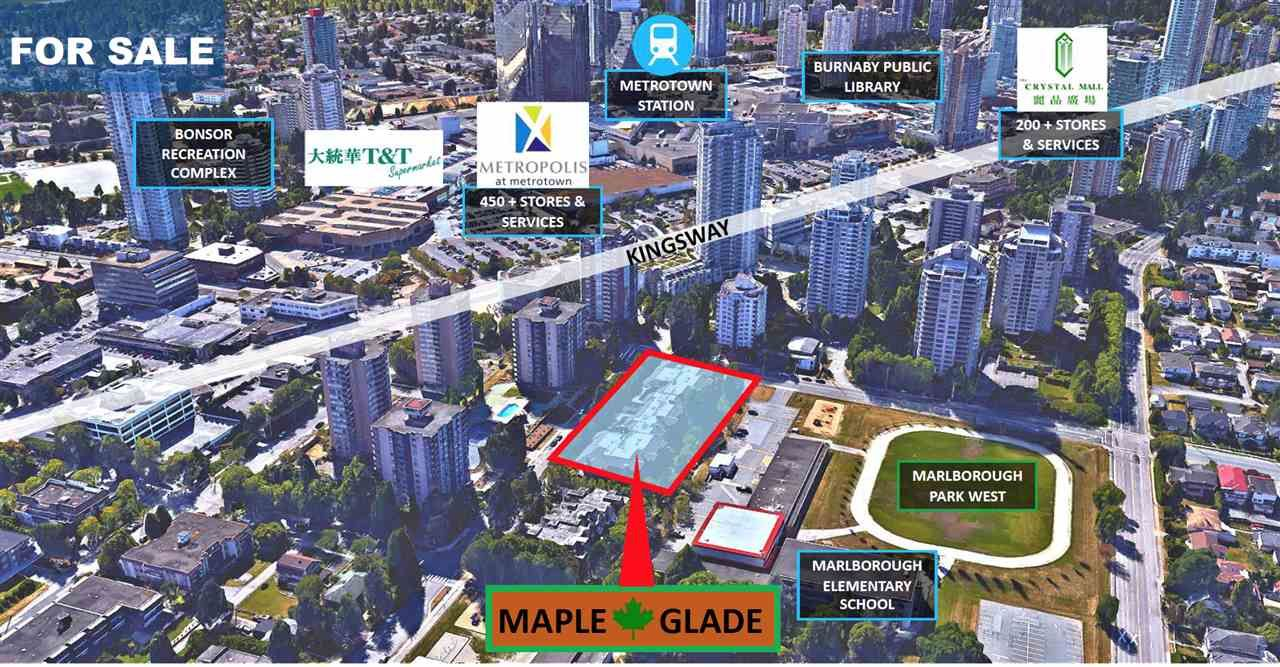 """Main Photo: SL 1-46 4951 SANDERS Street in Burnaby: Forest Glen BS Land Commercial for sale in """"Maple Glade"""" (Burnaby South)  : MLS®# C8040055"""