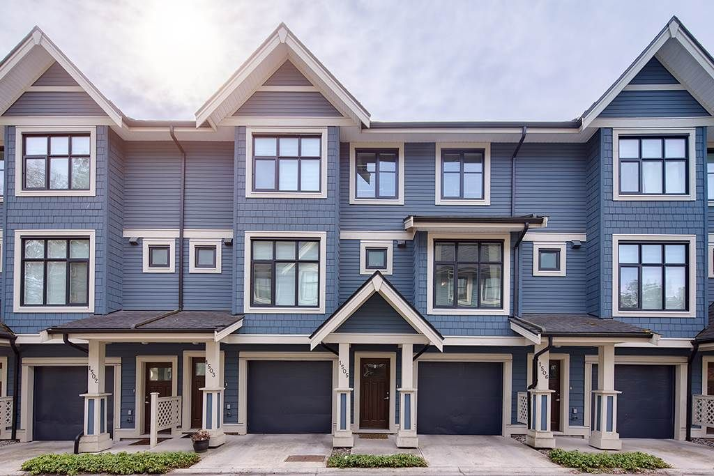 """Main Photo: 1505 8485 NEW HAVEN Close in Burnaby: Big Bend Townhouse for sale in """"McGregor"""" (Burnaby South)  : MLS®# R2353704"""
