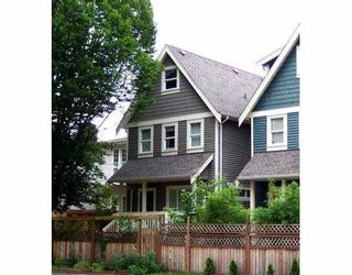 """Photo 1: 879 PRIOR ST in Vancouver: Mount Pleasant VE 1/2 Duplex for sale in """"STRATHCONA"""" (Vancouver East)  : MLS®# V546201"""