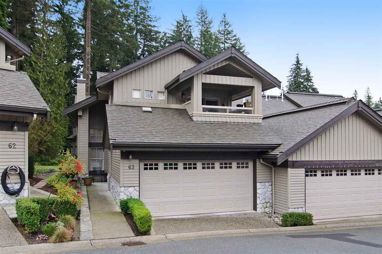 """Main Photo: 63 1550 LARKHALL Crescent in North Vancouver: Northlands Townhouse for sale in """"NAHNEE WOODS"""" : MLS®# R2025165"""