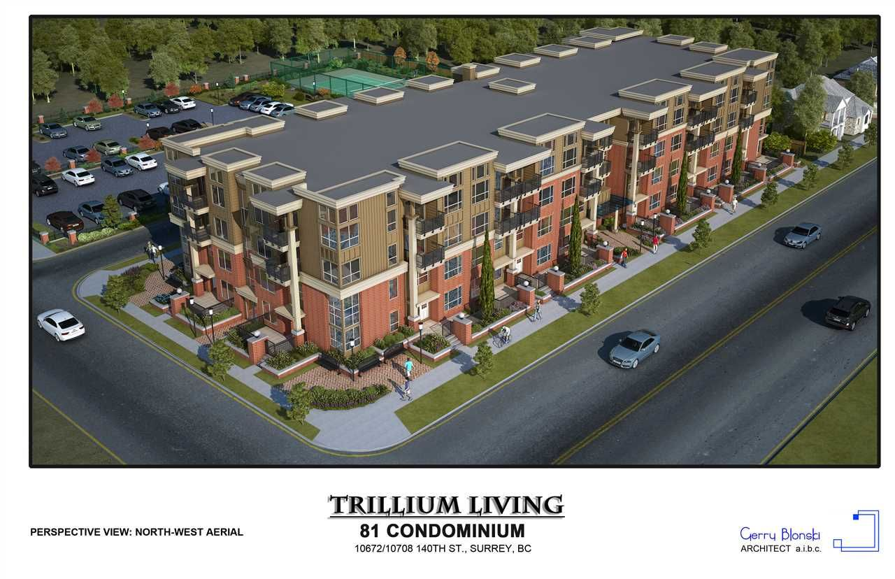 "Main Photo: 207 10688 140 Street in Surrey: Whalley Condo for sale in ""TRILLIUM LIVING"" (North Surrey)  : MLS®# R2415342"