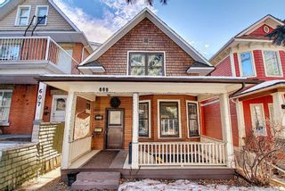 Photo 1: 609 Royal Avenue SW in Calgary: Cliff Bungalow Detached for sale : MLS®# A1061291