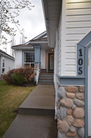 Main Photo: 105 Chaparral Villas SE in Calgary: Chaparral Semi Detached for sale : MLS®# A1099426