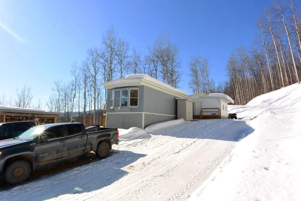 Main Photo: 4485 HUDSON BAY MOUNTAIN ROAD Road in Smithers: Smithers - Rural Manufactured Home for sale (Smithers And Area (Zone 54))  : MLS®# R2447352
