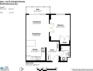 """Photo 19: 1904 145 ST. GEORGES Avenue in North Vancouver: Lower Lonsdale Condo for sale in """"TALISMAN TOWERS"""" : MLS®# R2260012"""