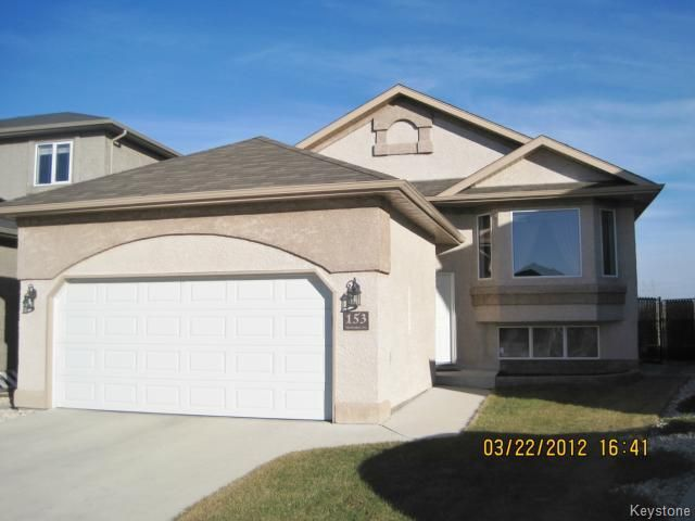 Main Photo: 153 Montavle Crescent in Winnipeg: Single Family Detached for sale (Royalwood)  : MLS®# 1204955