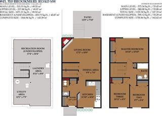 Photo 28: 43 310 BROOKMERE Road SW in Calgary: Braeside House for sale : MLS®# C4128783