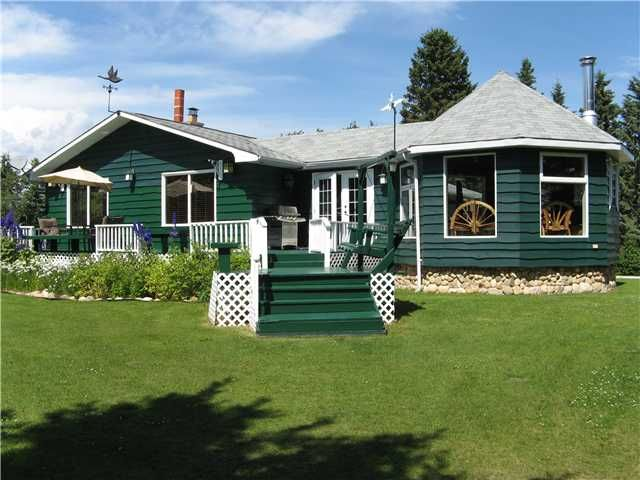 Main Photo: 282130 HORSE CREEK ROAD in COCHRANE: Rural Rocky View MD Residential Detached Single Family for sale : MLS®# C3488056