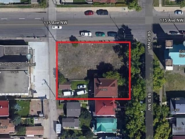 Main Photo: 11440, 11446 94 Street in Edmonton: Zone 05 Vacant Lot for sale : MLS®# E4263253