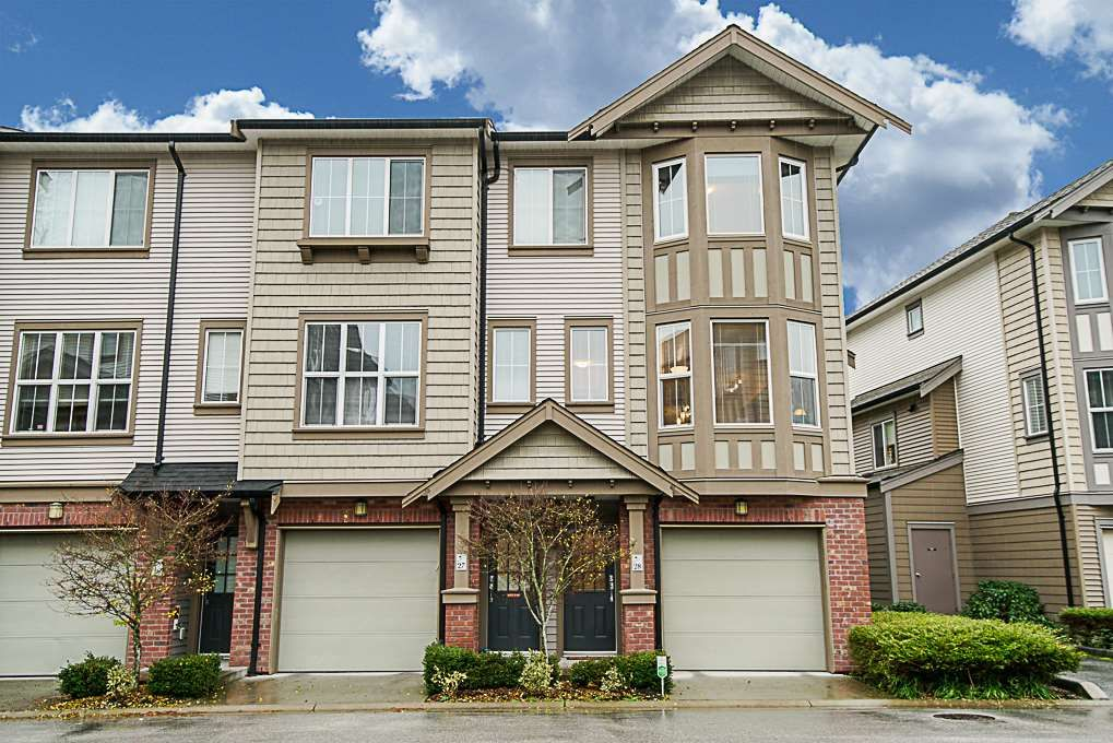 """Main Photo: 28 14838 61 Avenue in Surrey: Sullivan Station Townhouse for sale in """"SEQUOIA"""" : MLS®# R2324579"""