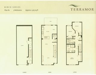 "Photo 9: 116 9088 HALSTON Court in Burnaby: Government Road Townhouse for sale in ""TERRAMOR"" (Burnaby North)"