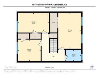 Photo 36: 10410 LAUDER Avenue in Edmonton: Zone 01 Attached Home for sale : MLS®# E4256925