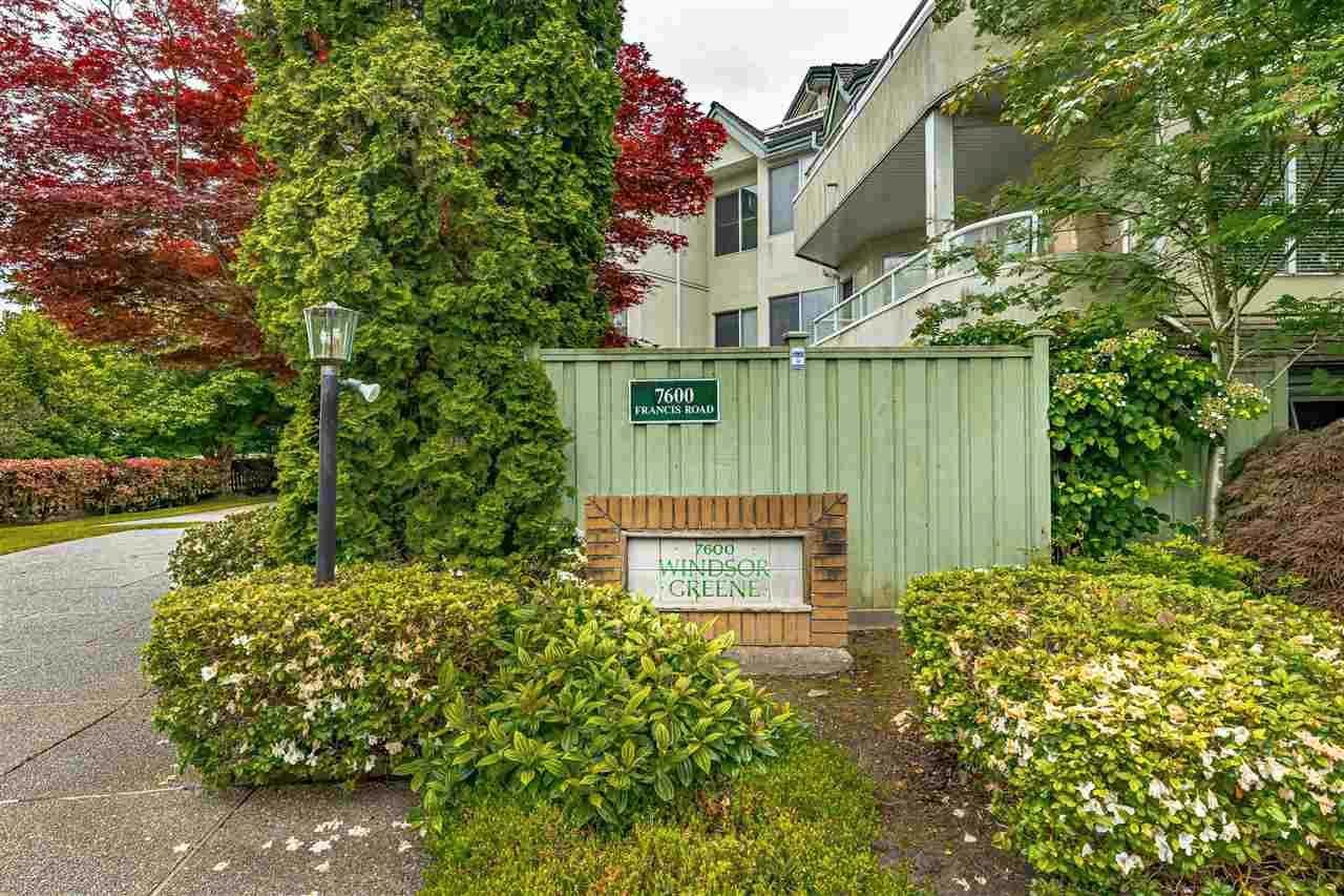 "Main Photo: 205 7600 FRANCIS Road in Richmond: Broadmoor Condo for sale in ""WINDSOR GREEN"" : MLS®# R2587080"