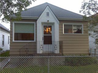 Photo 1: 764 PRITCHARD Avenue in WINNIPEG: North End Residential for sale (North West Winnipeg)  : MLS®# 1014912