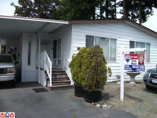 """Photo 1: 117 3665 244 Street in Langley: Otter District Manufactured Home for sale in """"Langley Grove Estates"""" : MLS®# F1215190"""