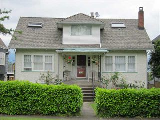 Photo 1: 3841 W 13TH Avenue in Vancouver: Point Grey House for sale (Vancouver West)  : MLS®# V894482