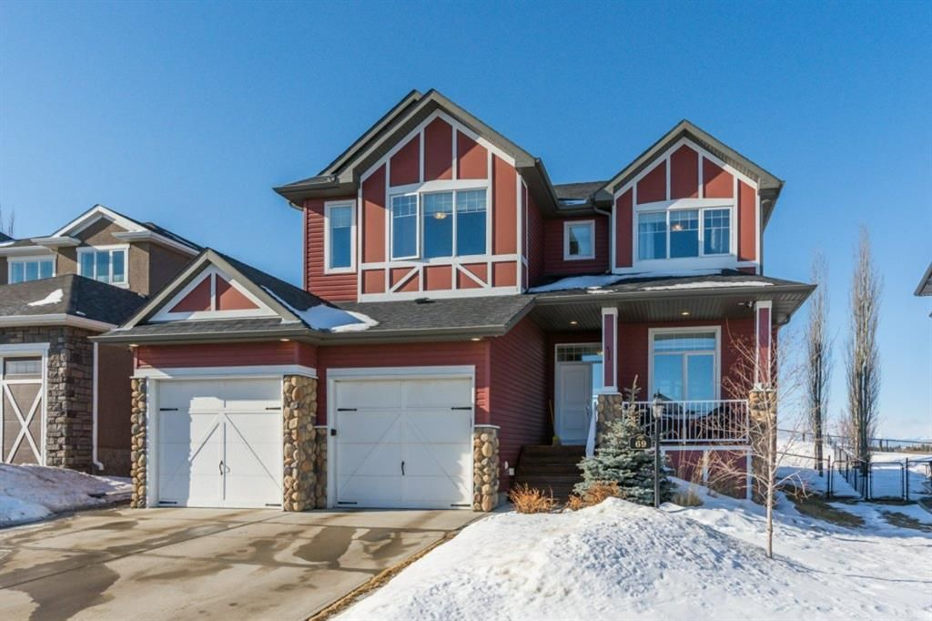 Main Photo: 69 Sheep River Heights: Okotoks Detached for sale : MLS®# A1073305