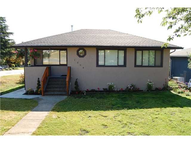 Main Photo: 1404 DENT Avenue in Burnaby: Willingdon Heights House for sale (Burnaby North)  : MLS®# V843532