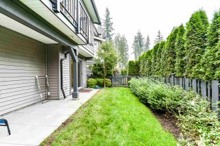 """Photo 30: 26 3461 PRINCETON Avenue in Coquitlam: Burke Mountain Townhouse for sale in """"BRIDLEWOOD"""" : MLS®# R2500651"""