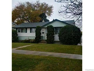 Photo 1: 876 Knox Street in WINNIPEG: Westwood / Crestview Residential for sale (West Winnipeg)  : MLS®# 1529794