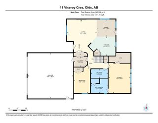 Photo 43: 11 viceroy Crescent: Olds Detached for sale : MLS®# A1091879