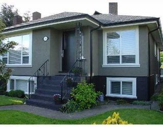 Photo 1: 2583 8TH Avenue in Vancouver East: Renfrew VE Home for sale ()  : MLS®# V709302