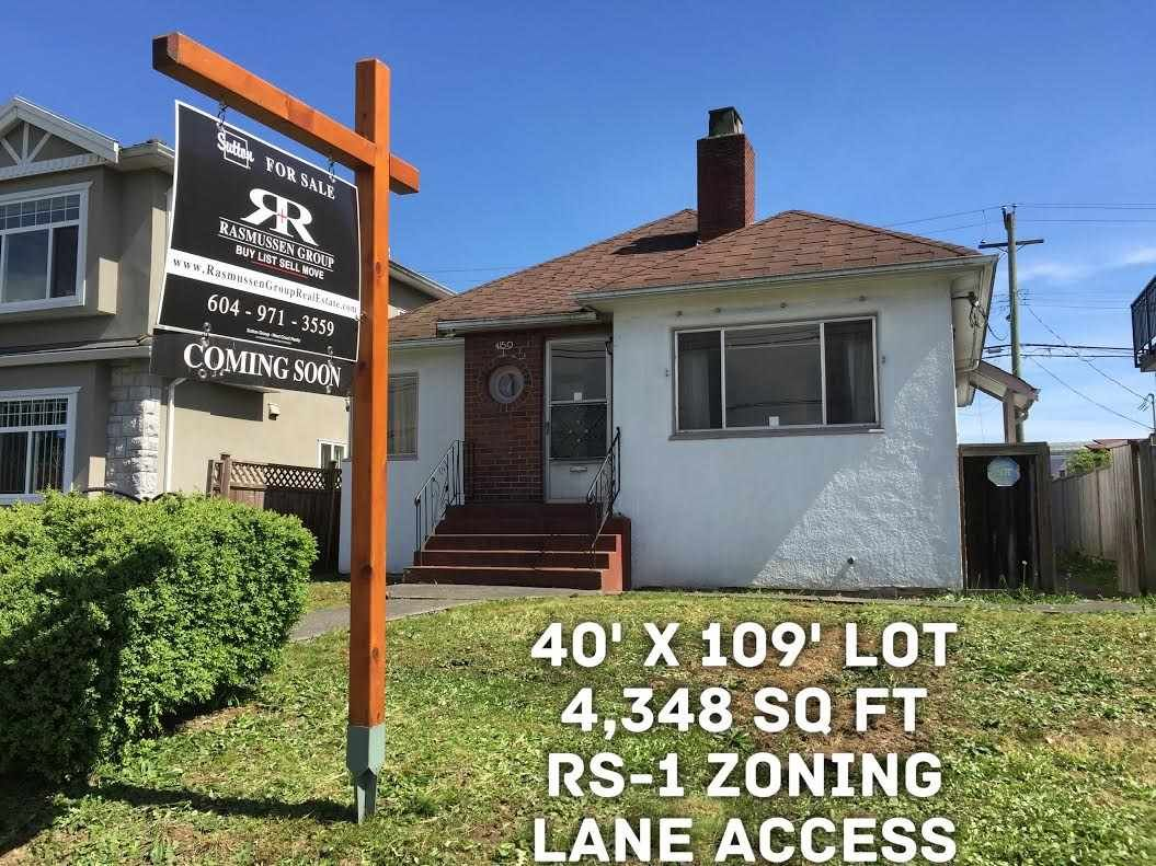 "Main Photo: 4150 VICTORIA Drive in Vancouver: Victoria VE House for sale in ""VICTORIA"" (Vancouver East)  : MLS®# R2059189"