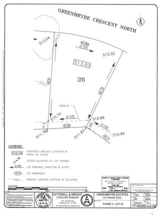 Photo 3: 113 Greenbryre Crescent North in Greenbryre: Lot/Land for sale : MLS®# SK840602
