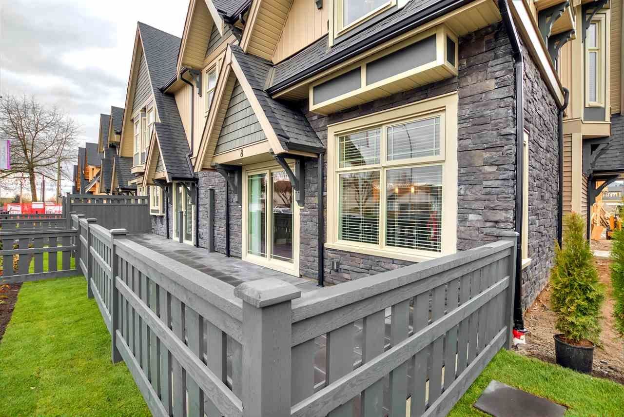 """Main Photo: 3 19095 MITCHELL Road in Pitt Meadows: Central Meadows Townhouse for sale in """"BROGDEN BROWN"""" : MLS®# R2152678"""