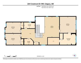 Photo 31: 224 Crestmont Drive SW in Calgary: Crestmont Detached for sale : MLS®# A1118392