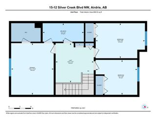 Photo 33: 15 12 Silver Creek Boulevard NW: Airdrie Row/Townhouse for sale : MLS®# A1090078