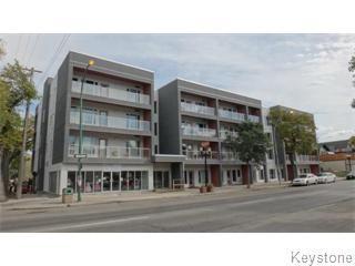 Photo 1: Photos: 212 155 Sherbrook Street in Winnipeg: Wolseley Apartment for sale (West Winnipeg)  : MLS®# 1513861