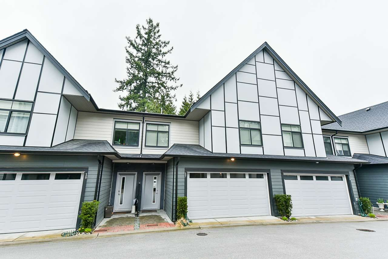Main Photo: 17 2427 164 STREET in Surrey: Grandview Surrey Townhouse for sale (South Surrey White Rock)  : MLS®# R2559512