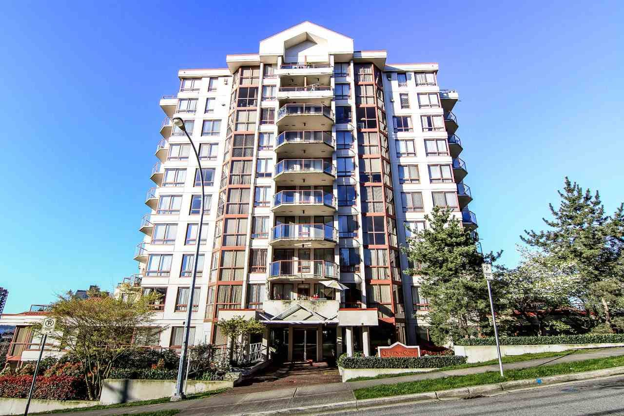 """Main Photo: 804 220 ELEVENTH Street in New Westminster: Uptown NW Condo for sale in """"QUEENS COVE"""" : MLS®# R2050568"""